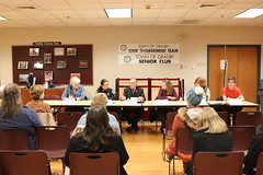 Rep. Simanski co-hosted a panel discussion on the topic of youth vaping with local experts, Farmington Valley Health Director Jennifer Keratanis, Granby Memorial High School Assistant Principal Julie Gronene, Granby Police Officer Christina Delatto, Granby Youth Services Bureau Prevention Specialist AnneMarie Cox and Granby Memorial High School Junior Tommy Dlugilenski.
