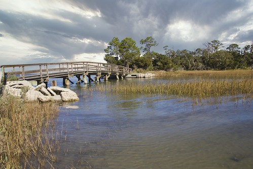 ocean bridge storm nature water beautiful clouds creek georgia landscape amazing scenic marsh jekyllisland southeast georgiacoast coast coastal