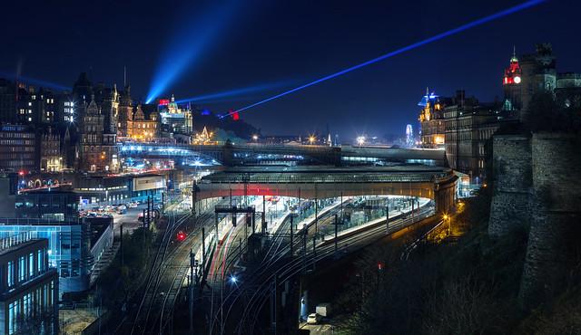 Edinburgh - Castle of Light