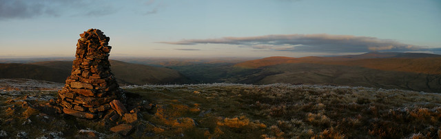 The summit of Fan Nedd, Brecon Beacons