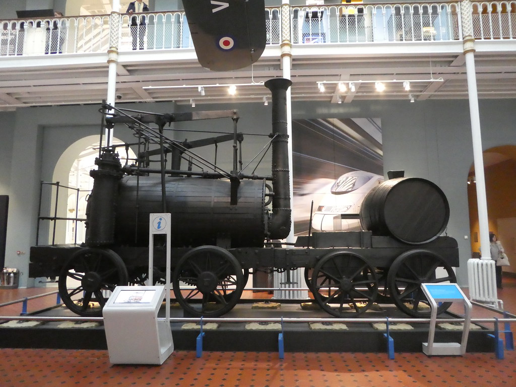 Wylam Dilly, one of the two oldest steam locomotives in the world