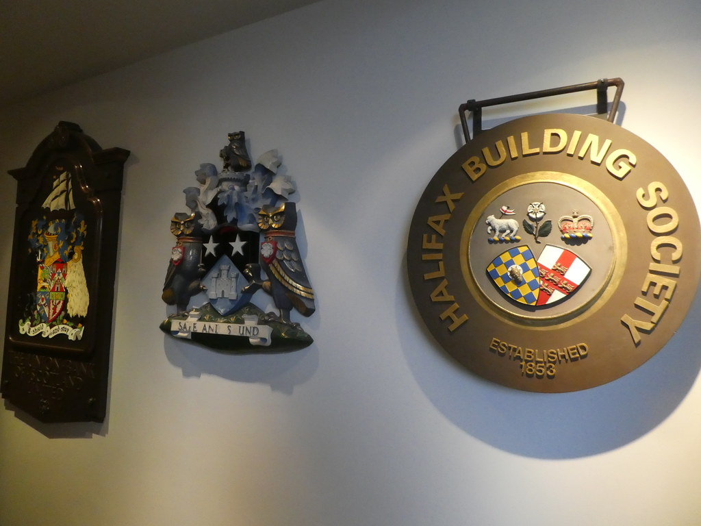 Coats of Arms on display in the Museum on the Mound