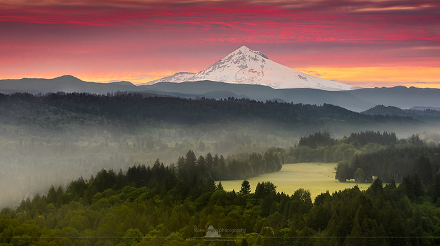 Mt. Hood from Jonsrud Viewpoint, Oregon
