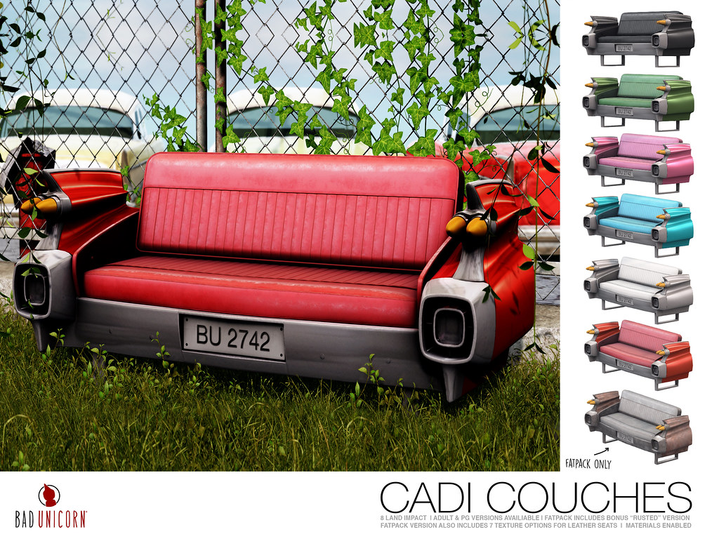NEW! Cadi Couches @ TMD