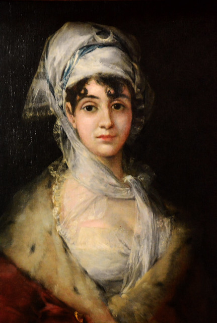 Retrato de la Actriz Antonia Zarate (Goya) / Portrait of the actress Antonia Zarate (Goya)