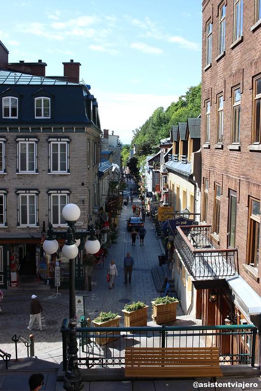 Vieux Quebec Rue du Petit-Champlain 1