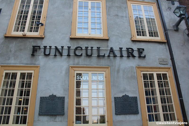 Vieux Quebec Funiculaire du Vieux-Québec 1