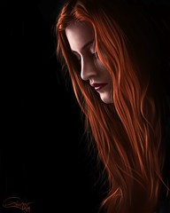 Ginger -Digital painting-