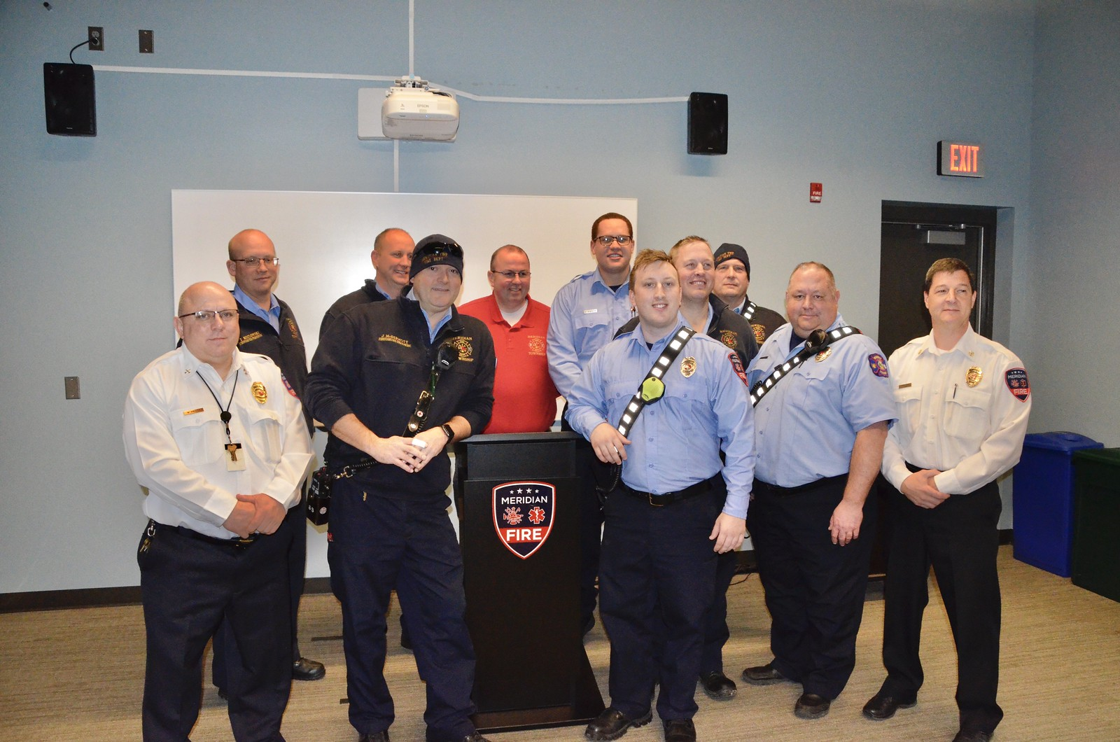 Meridian Township Fire Department Welcomes New Paramedic/Firefighter