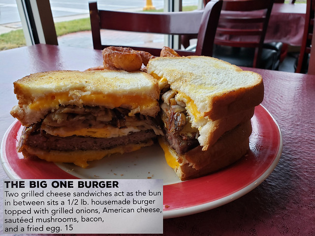 The Big One Burger. (s9)