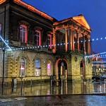 Festive Accrington Town Hall