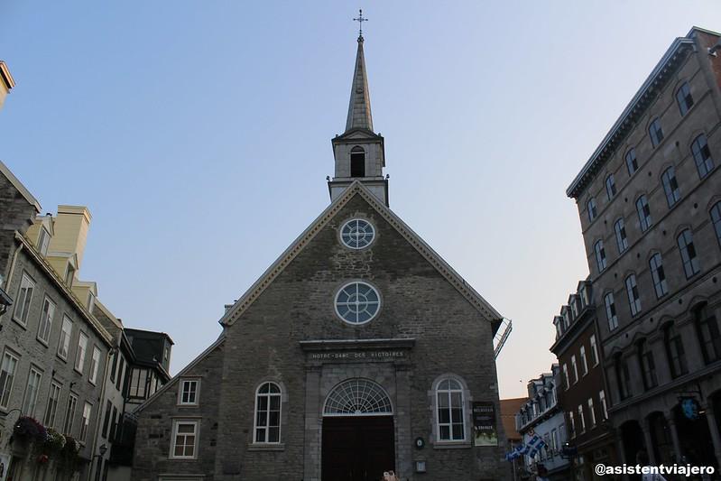 Vieux Quebec Notre-Dame-des-Victoires
