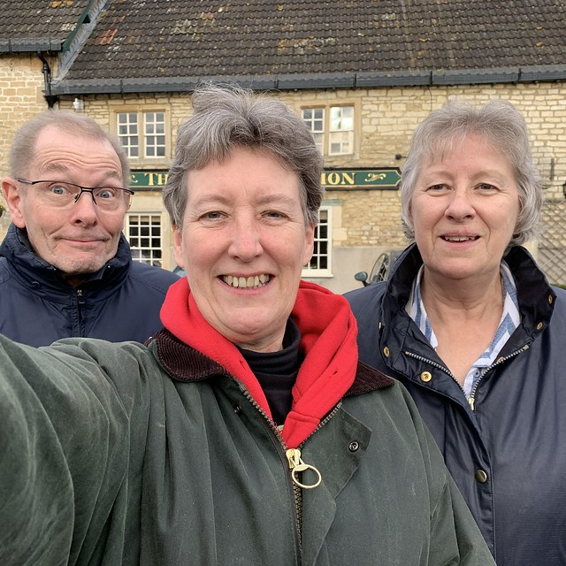 339 2019 a day in Broughton Gifford with Liz