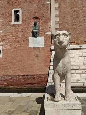 Stone Lion Arsenale