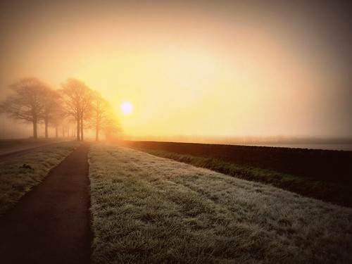 sunrise oxfordshire samsungs9 fog england englishcountryside