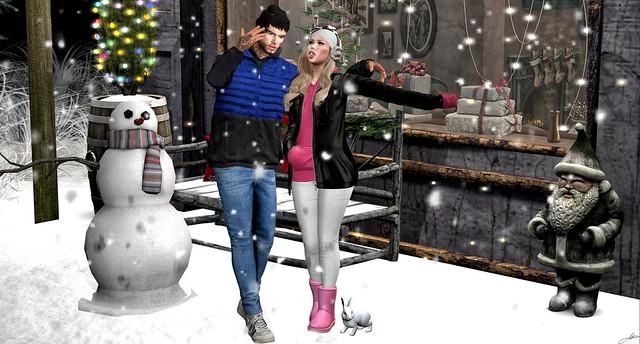 Walk under the Snow