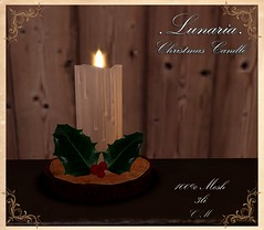 Christmas Candle Group Gift