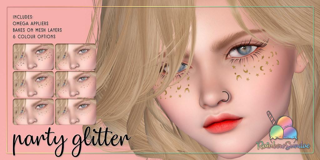 *Rainbow Sundae* Party Glitter