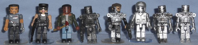 MiniMates - Terminator 2 Box + Singles