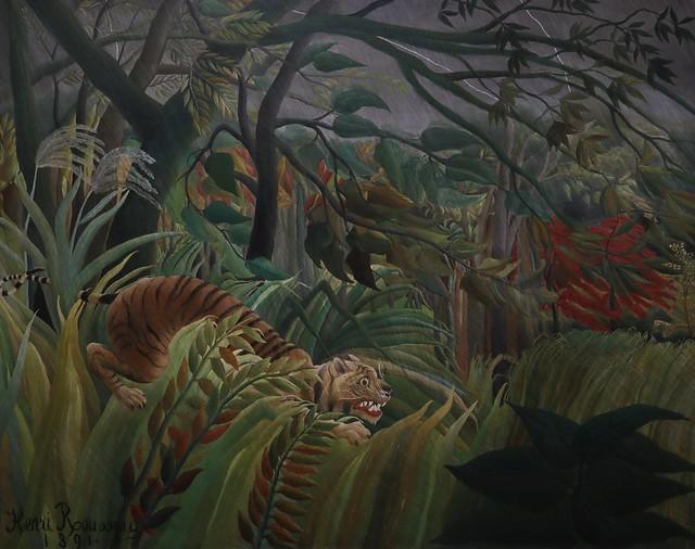 Tigre dans une tempête tropicale (1891)