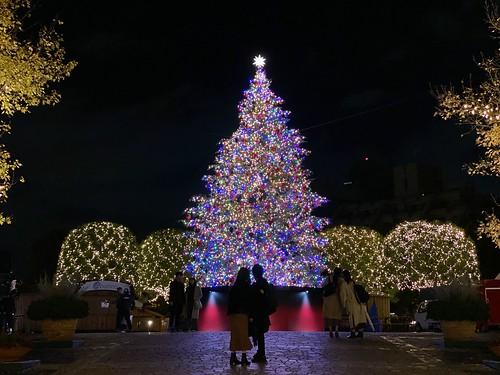 恵比寿ガーデンプレイス 真夜中のイルミネーション