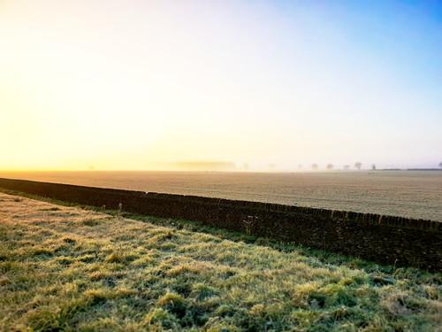 fog sunrise oxfordshire samsungs9 england englishcountryside