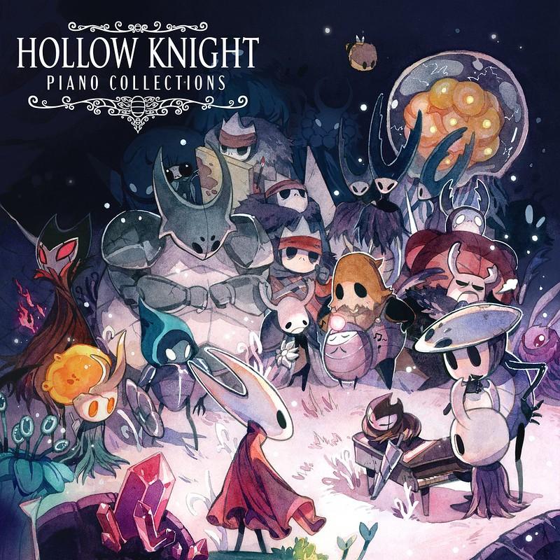 Collezioni di pianoforte Hollow Knight
