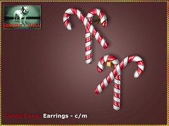 Bliensen - Candy Cane - Earrings