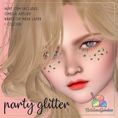 *Rainbow Sundae* Party Glitter Hunt Prize