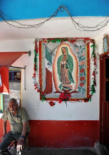 Ahuacatlan Puebla Virgin of Guadalupe Mexico