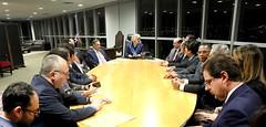 Audiência no TSE com Presidentes  Nacionais de Partidos Políticos em 05.12.2019.