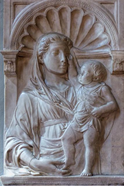 Fri, 09/11/2015 - 12:15 - Madonna and Child (c1430) by Michelozzo di Bartolomeo - Bargello Florence 11/09/2015