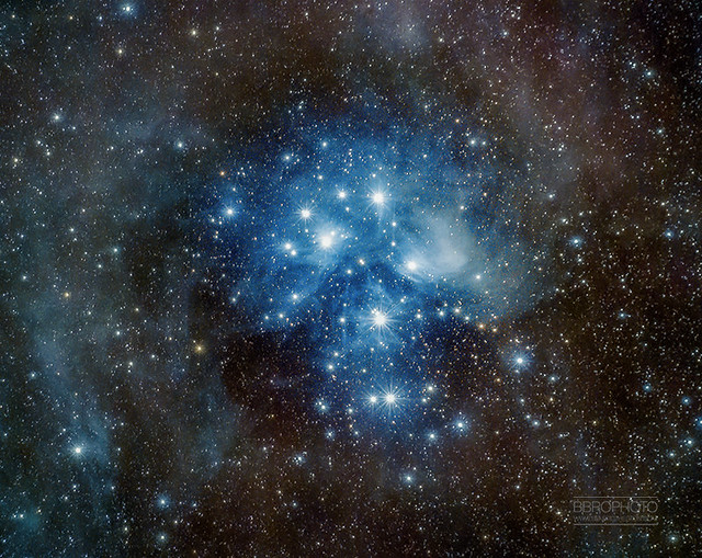 M45 - Pleiades widefield