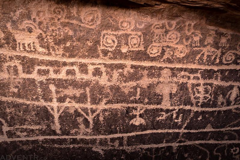Music Panel Petroglyphs