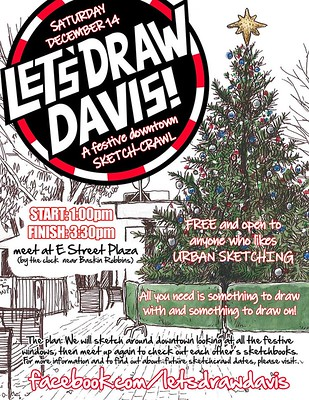 Let's Draw Davis Dec 2019