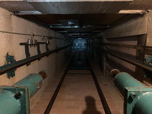 elevator facultyhall lift murraystate murraystateuniversity pit
