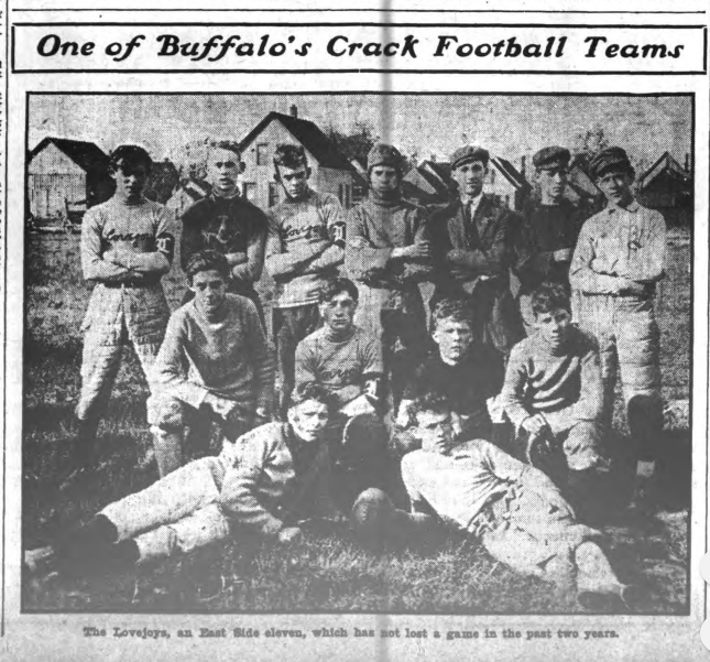 1909 Buffalo Foot Ball Team