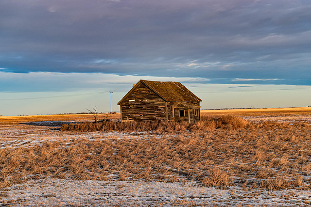 Another Abandoned Home on the prairies