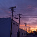 Sunsets and Wires