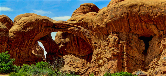 Double Arches - Panorama, Arches Nationalpark, Utah [explored]