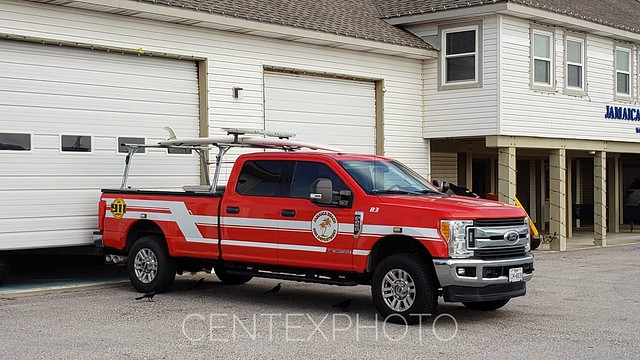 Jamaica Beach, TX Fire Department Rescue 3 Ford F-250