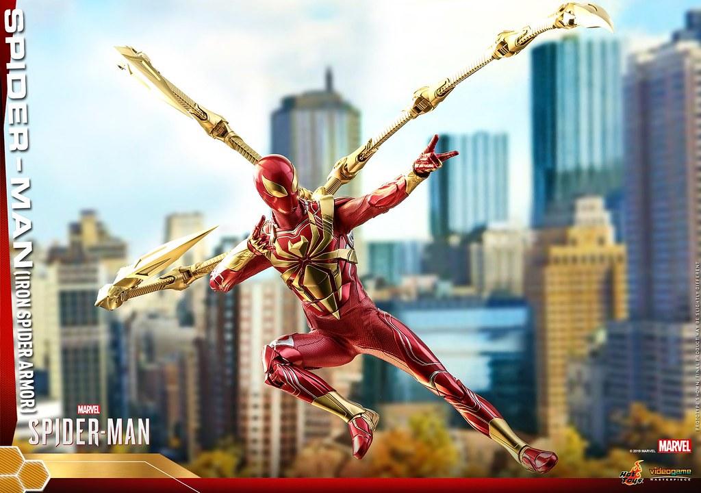 巨大蜘蛛爪臂帥慘! Hot Toys - VGM38 -《漫威蜘蛛人》蜘蛛人 (鋼鐵蜘蛛裝甲) Spider-Man (Iron Spider Armor) 1/6 比例人偶