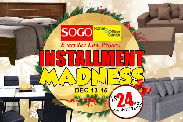 SOGO Installment Madness