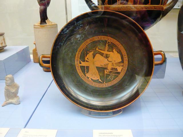 Ancient Greek plate / Древногръцка чиния