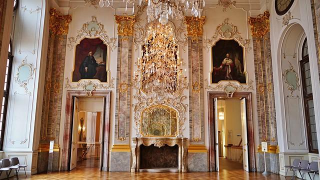 Bruchsal Schloss Beletage Fürstensaal