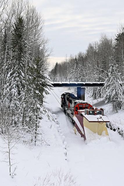 CN's WC blizzard plow