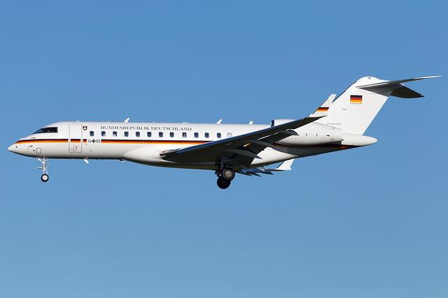 German Air Force Bombardier Global 6000 14+05