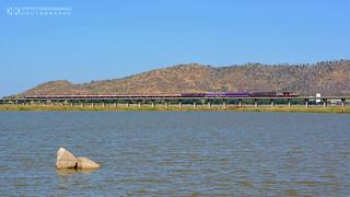 Hitachi 4501 at Pa Sak Jolasid Dam