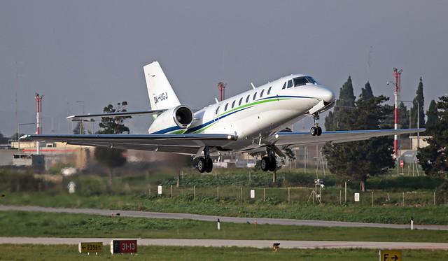 OK-UGJ LMML 05-12-2019 Travel Service Cessna 680 Citation Sovereign CN 680-0324