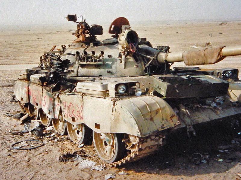 Iraqi T-69 2